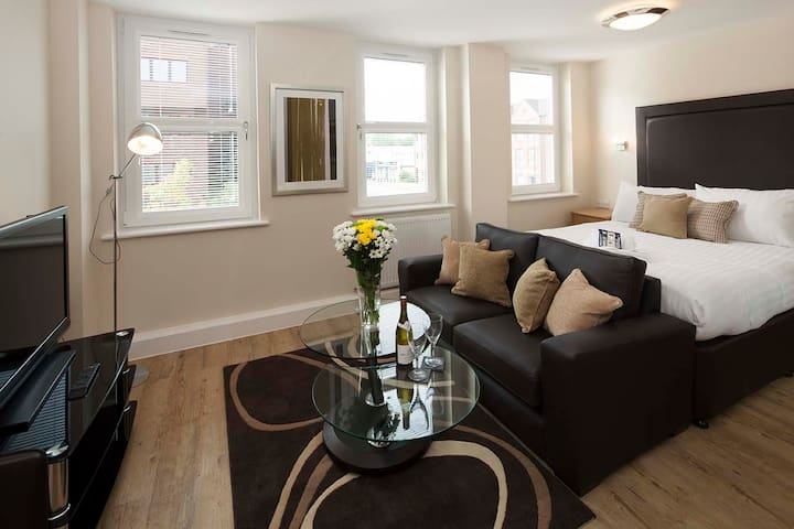 House of Fisher Central House Studio Apartment - Camberley - Apartment