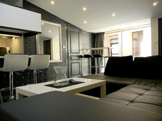 #studio avec terrasse, Grande Place Arras
