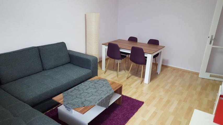 Central apartment, few min. from Fair Centre-Messe