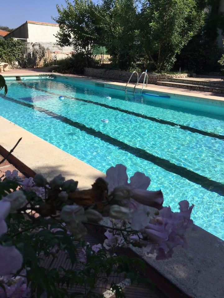 Luxury villa with private pool 20min moto circuit