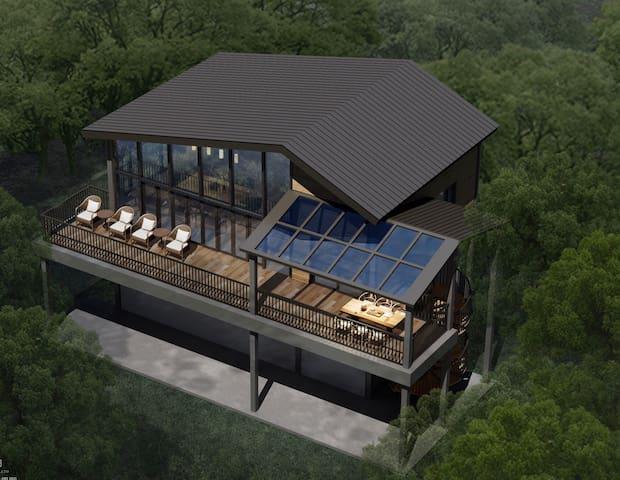 木墅时光 一百多亩山 一万棵海南黄花梨和两千棵沉香 独栋别墅 鸟语花香 独居一处 宜静养🥰