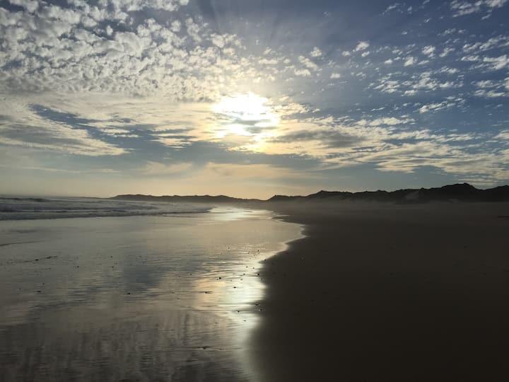 Quiet and cosy seaside retreat.