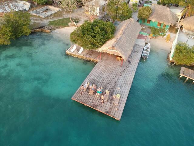 Isla los erizos(ecohouse)