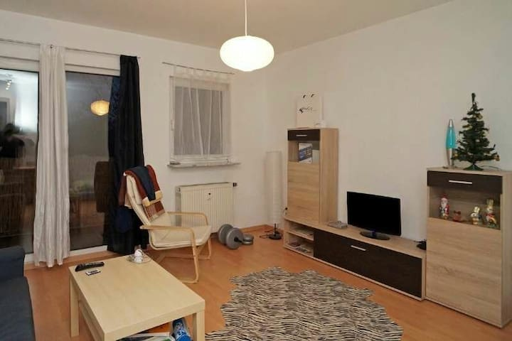 Charming 1bdr with skyline view - Hattersheim am Main - Apartament