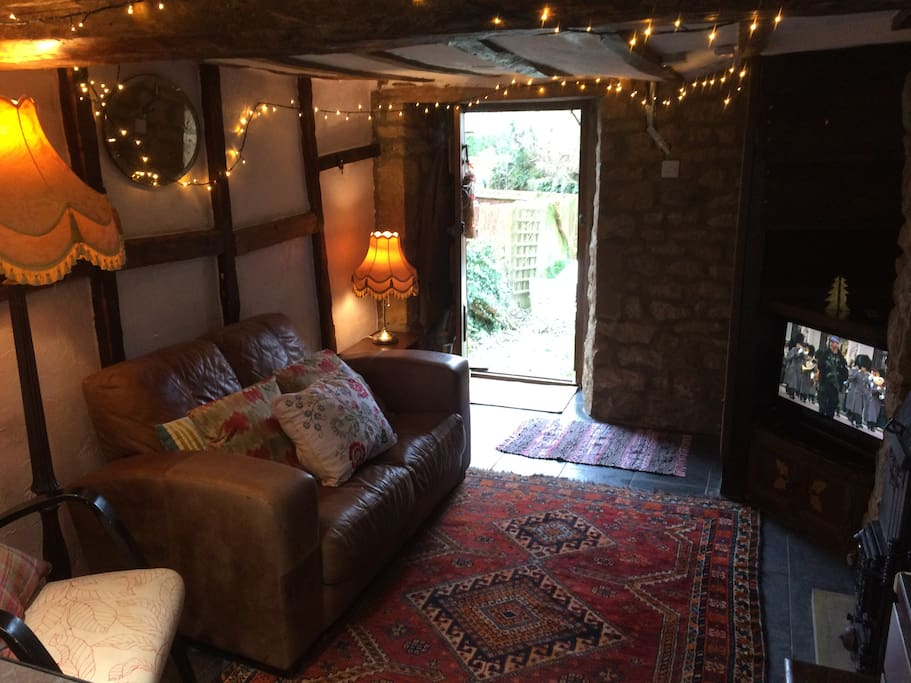 Charming  cosy but small reception area