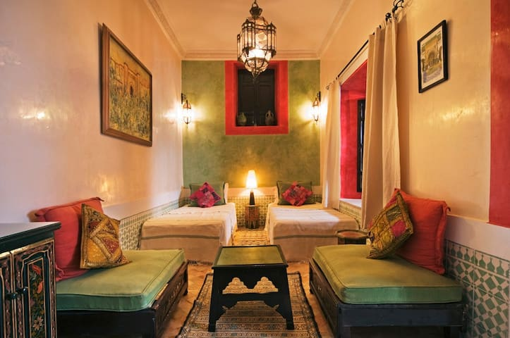 Smata Twin or Double Room in B&B Riad Dar el Souk