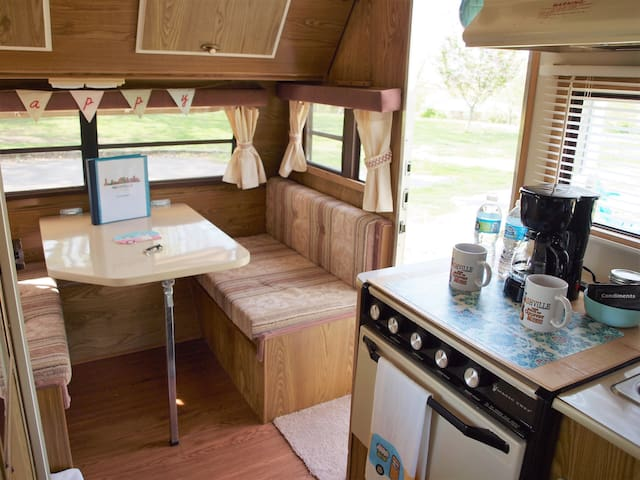 Glamping in Nashville near the Grand Ole Opry