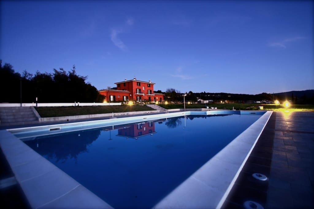 Villa liburnia b b con piscina e vista mare - B b toscana con piscina ...