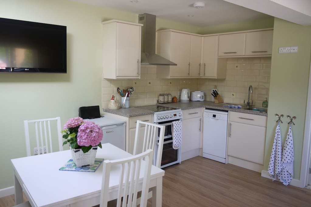 Kitchen in Rectory Cottage