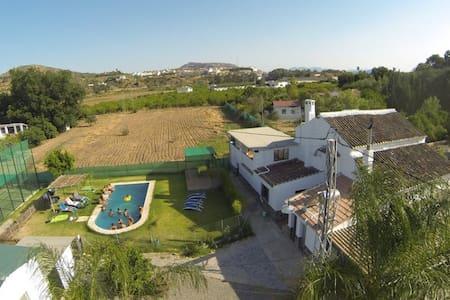 Magnífica casa rural con pista de Pádel - Casa