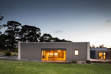 Strawbale house in the country - Kyneton - House - 1