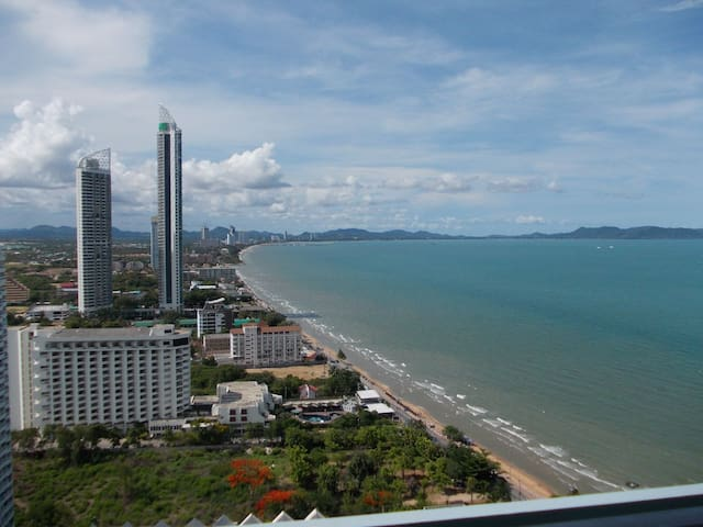 One bedroom condo for rent, seaview - Tambon Na Chom Thian - Pis