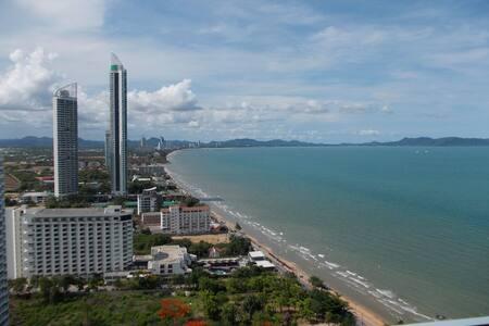 One bedroom condo for rent, seaview - Tambon Na Chom Thian - Lägenhet