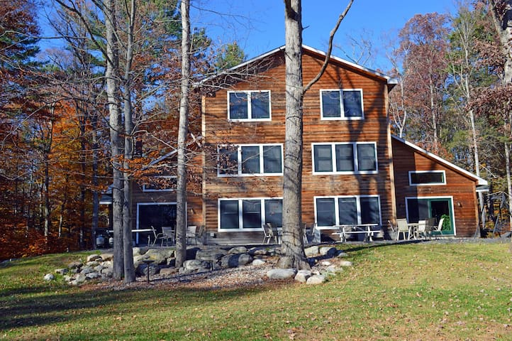 Large Secluded Estate accommodates 18+ guests. - Pine Bush