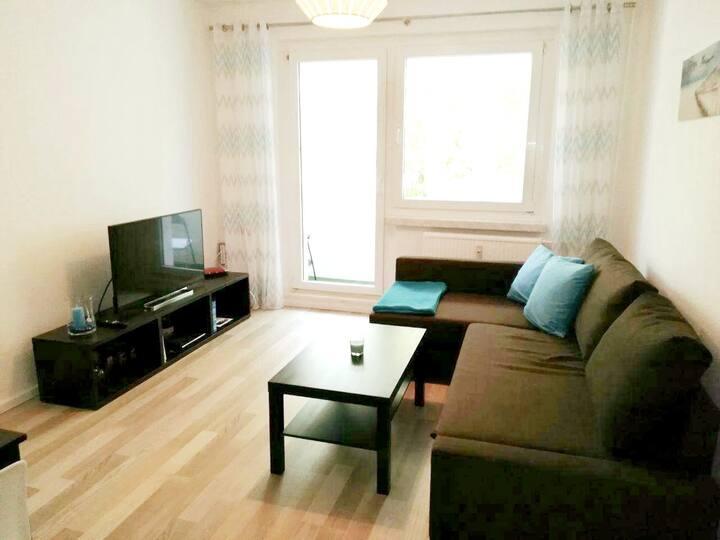 Apartment für 4 Personen mit Balkon