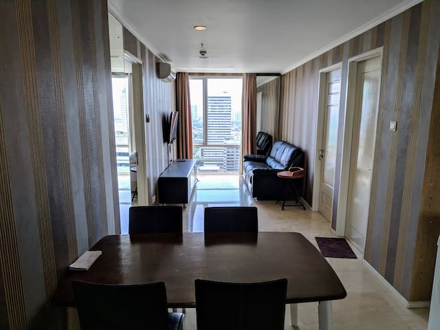 Lovely 2 Bedroom Apartment in FX Sudirman