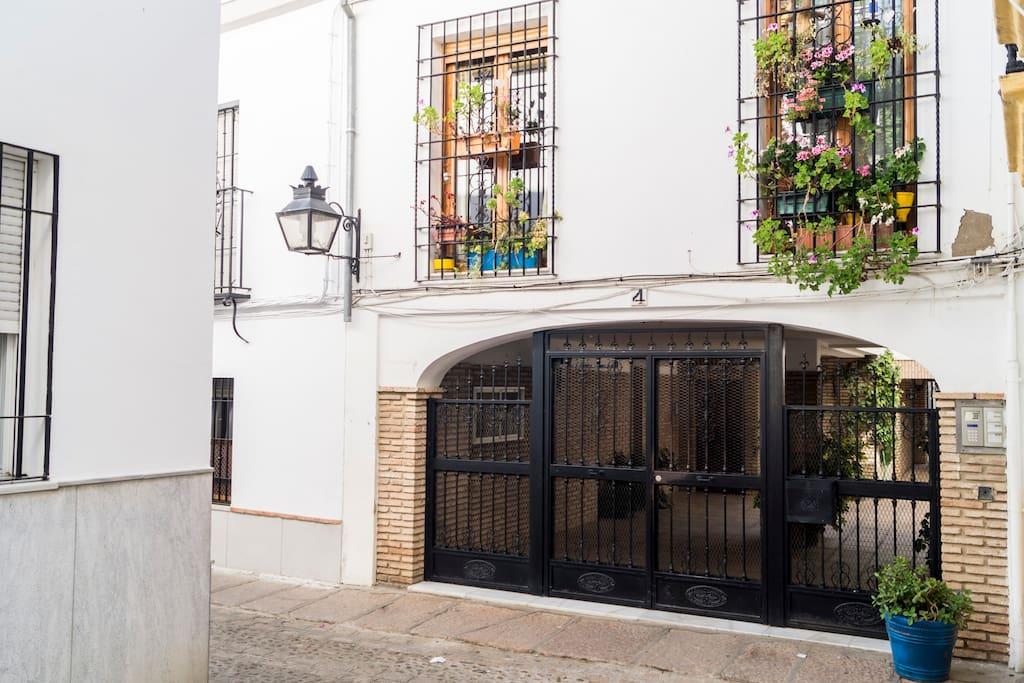 Portal acceso apartamento