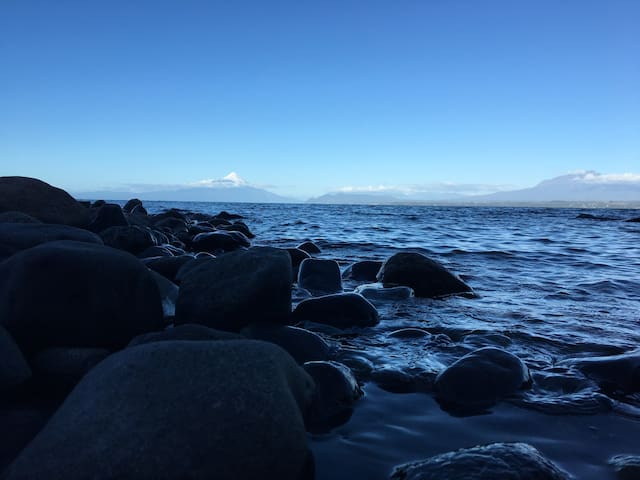 Cabin with Private Beach Access - Puerto varas  - Chalet