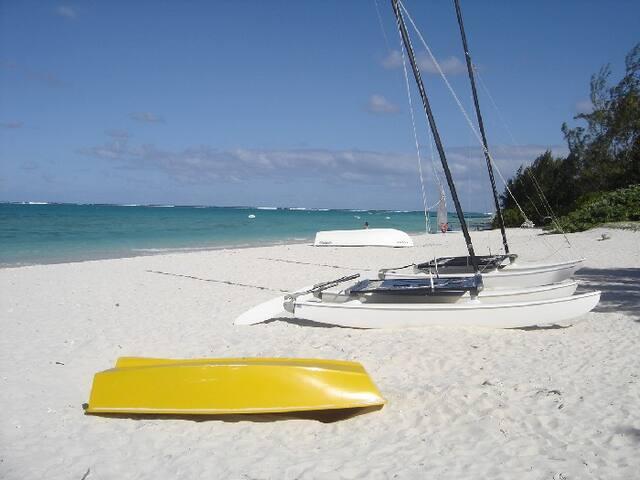 Villa Osumare on Flic en Flac Beach