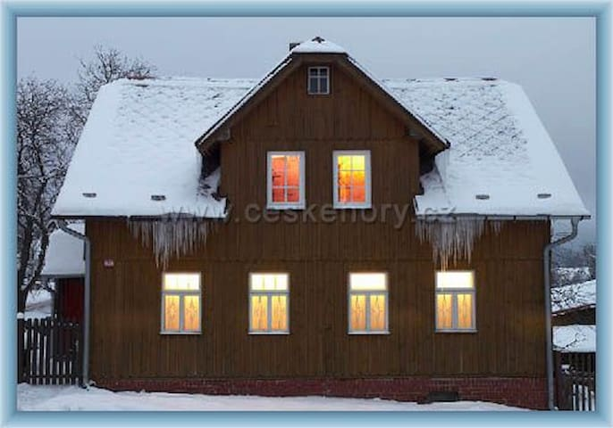 Cottage in the Ore Mountains - Bublava - Casa