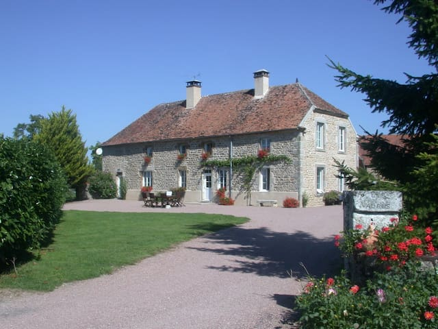 3 chambres gite6 pers Lormes Morvan - Lormes