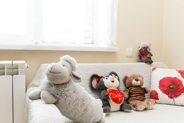 "Семейные апартаменты возле Аквапарка ""Аквамир"""