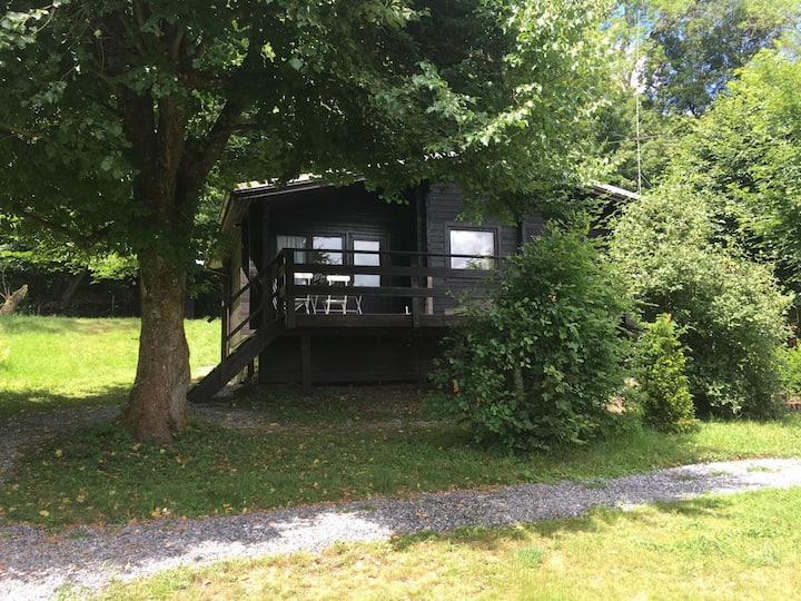 Häuschen an der Holzbachschlucht