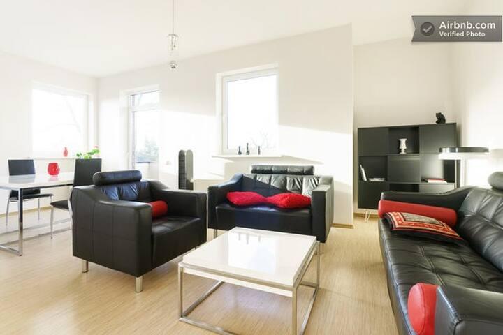 Spacious apartment in green area - Riga - Leilighet