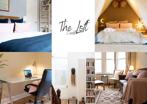 The Loft | 2BR Duplex in the ❤️ of Cardiff+Parking