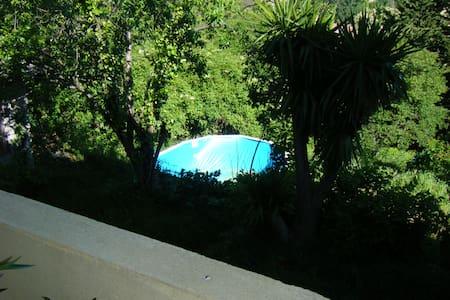 Calme+1000m jardin+piscine privée hors sol - Marsiglia