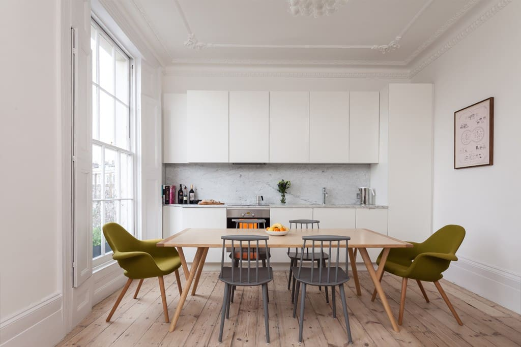 Architect Designed Georgian Flat Flats For Rent In London United Kingdom