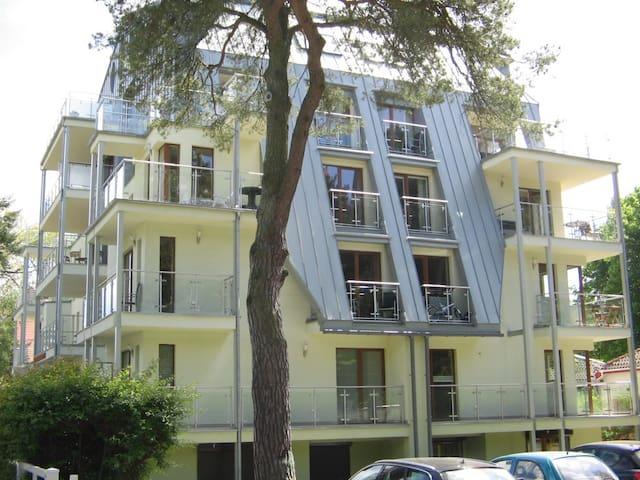 Komfortable Wohnung in erster Reihe - Swinoujscie - Appartement