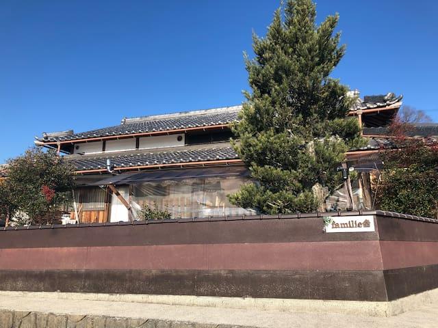 比叡山の麓 棚田の広がる里の古民家 一棟貸切のプライベート空間