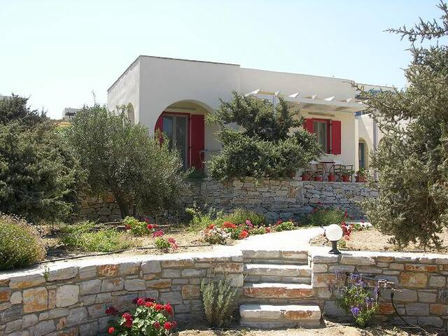 All-on-one-level villa w.sea view, breakfast incl. - Agios Prokopios - Ev