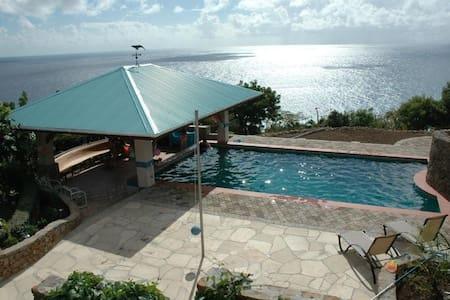 Fabulous ocean view villa ! - Falmouth