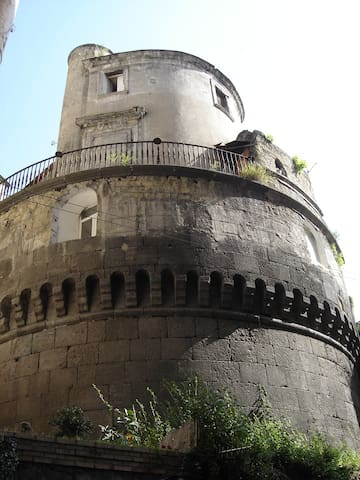 Ancient Tower in the Center