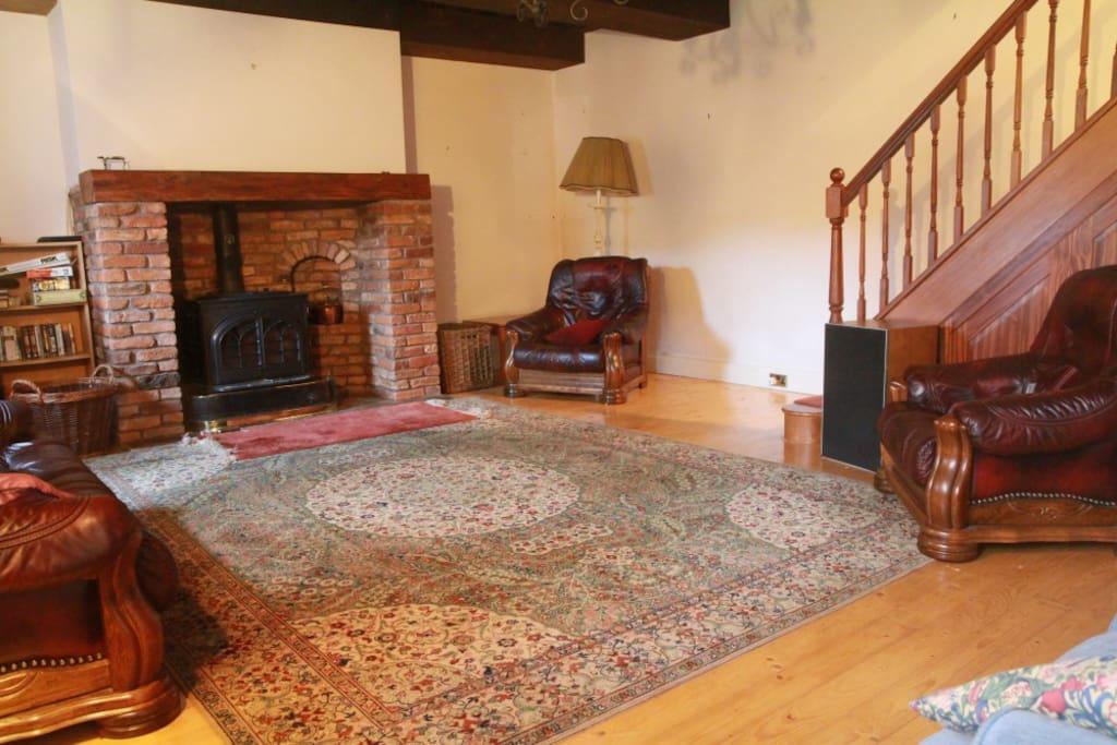 huge downstairs sitting room