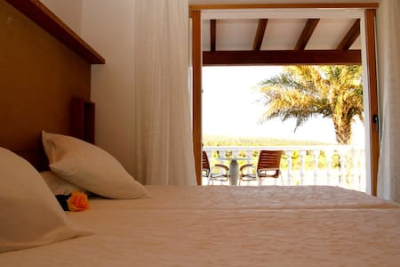 Double Room with Terrace @ Es Pas - Es Caló - Bed & Breakfast