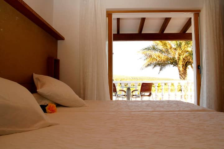 Double Room with Terrace @ Es Pas