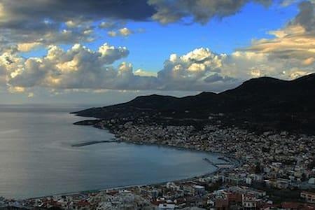 Island of Samos Ship Captain home