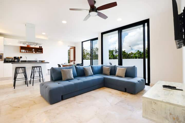 2BR modern apartment with Amazing Amenities in Akumal Anah Village !!!