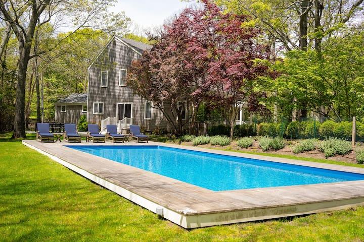 Fully Furnished 4 BD in E Hampton w/ Heated Pool