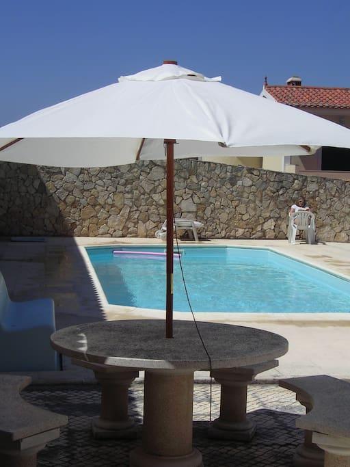 Private pool, 9m x 4m