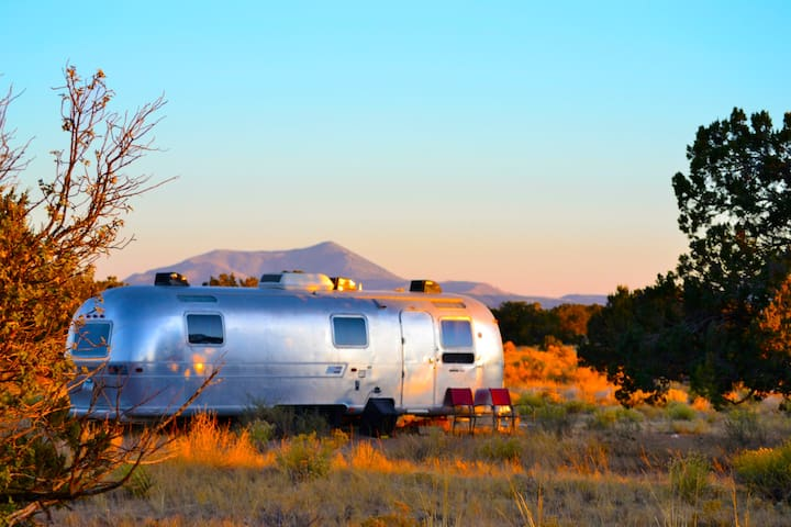 *Lucy* secluded, disinfected, in nature AIRSTREAM