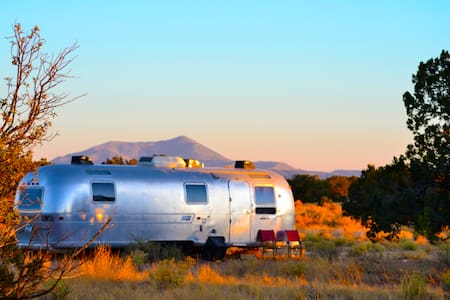 *Lucy* 50s THEMED AIRSTREAM IN NATURE