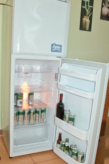 Fridge - beers not included :(