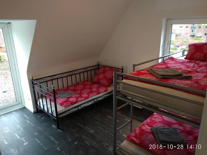 Schöne Zimmer near  Airport und A7/A23 und MCH