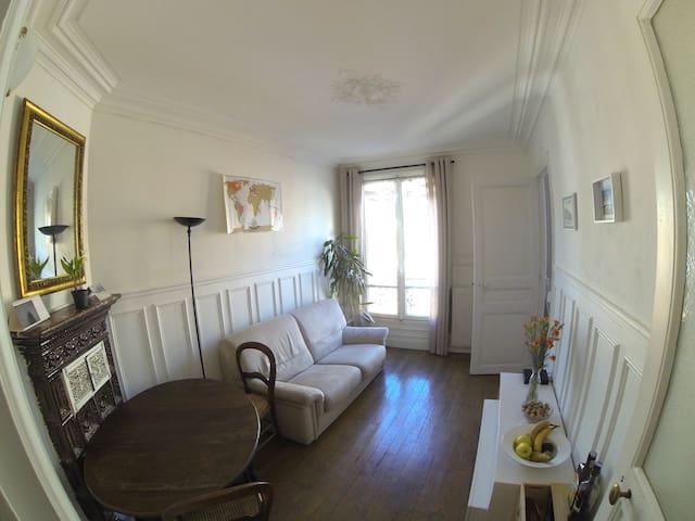 3-room apartment in Latin Quarter - Paris - Apartamento
