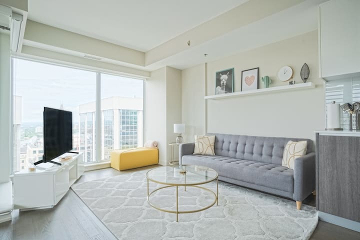Luxury Downtown Condo with Parliament/City view!