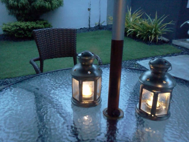 Romantic tea lights